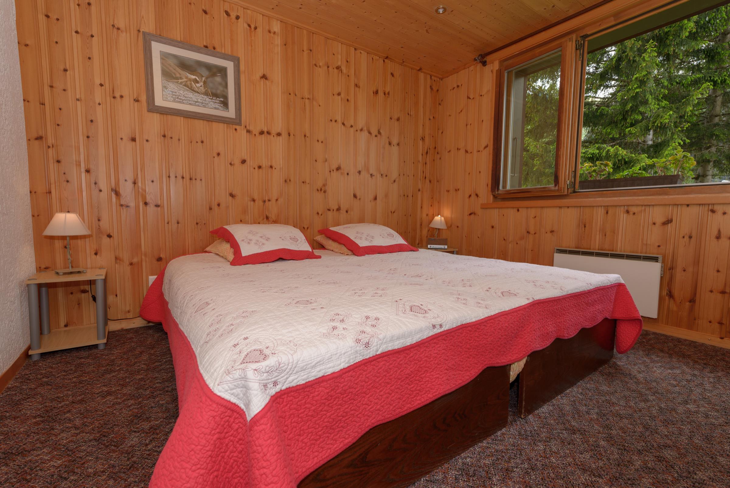 © chambre double motel