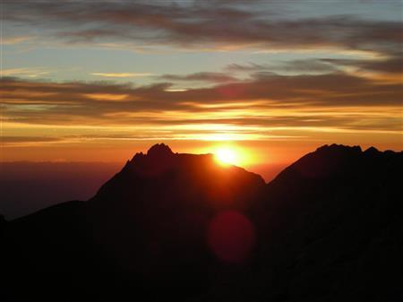 Ascension du Pic Carlit de nuit
