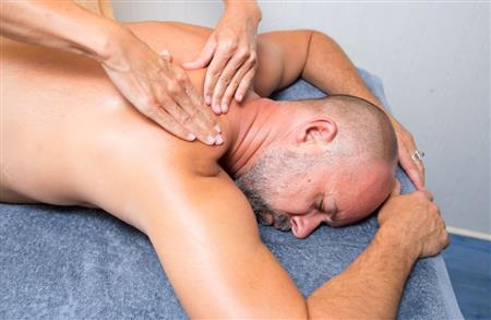 The relaxing massage « Les Sources »