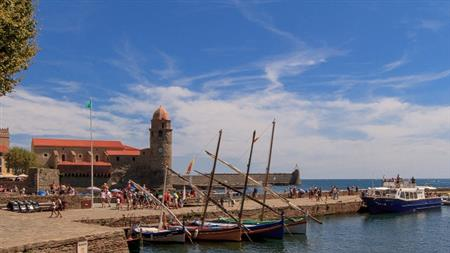 Collioure with stop