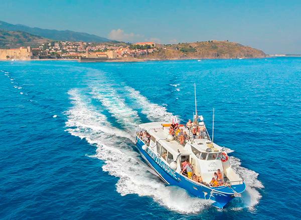 Liaison maritime : Port Vendres - Collioure