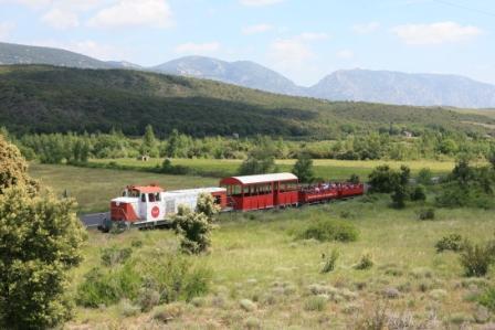 Le Train Rouge : Le Grand Parcours Axat - Rivesaltes