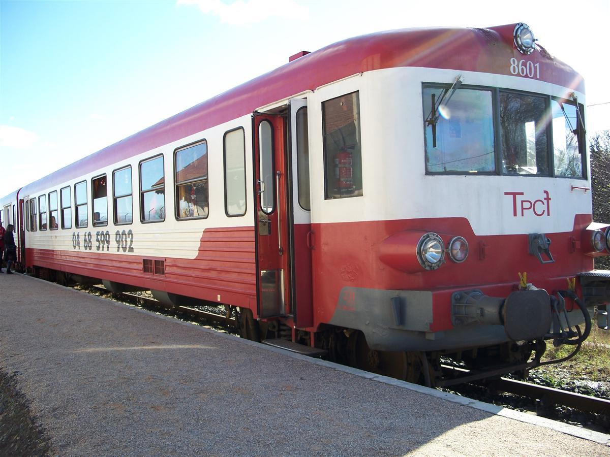 Le Train Rouge : Le Grand Parcours St Paul - Axat