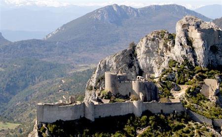 Vol en hélicoptère : Châteaux cathares