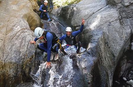 Canyon Sensation : Le Gourg des Anelles