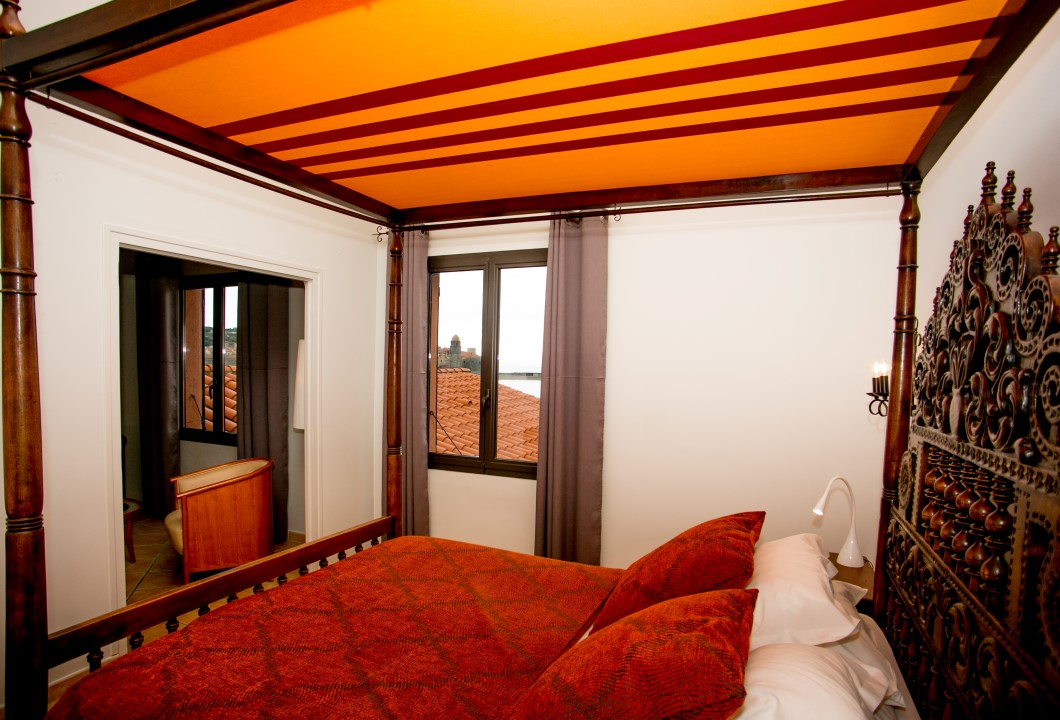 chambre junior © Relais des 3 Mas - Collioure