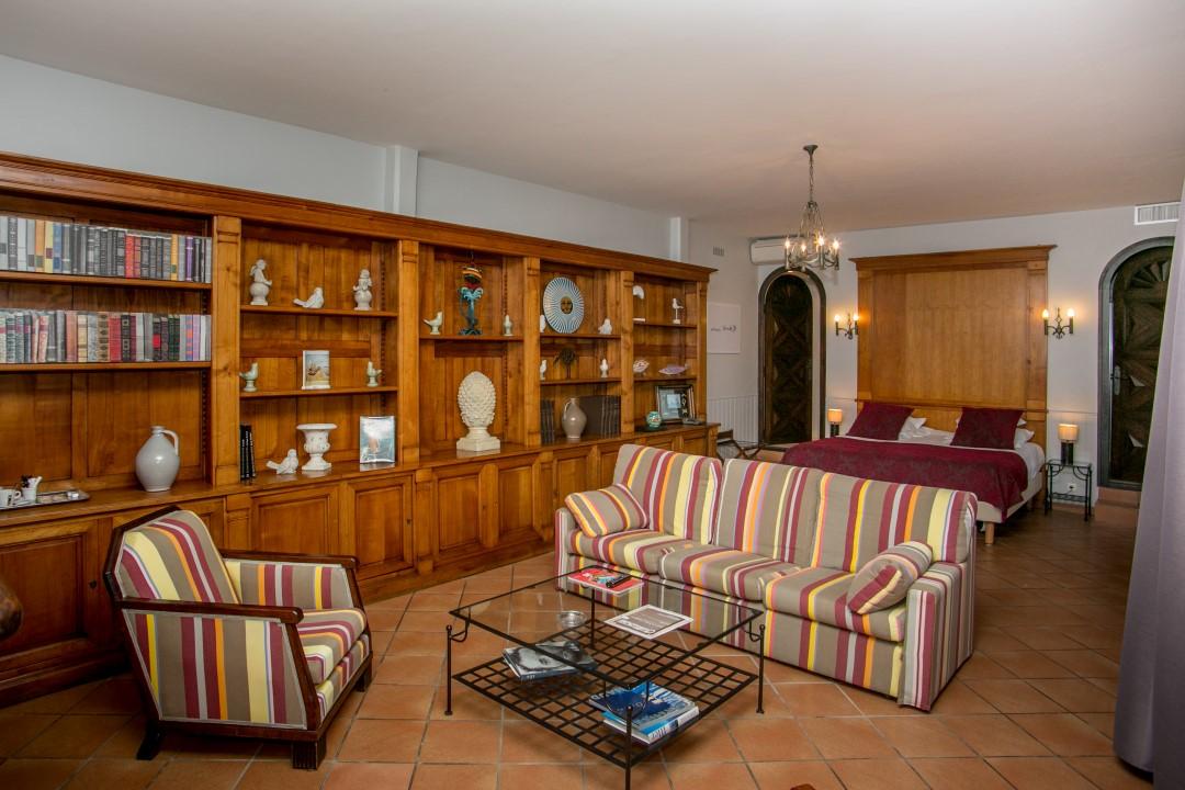chambre matisse - Prestige © Relais des 3 Mas - Collioure