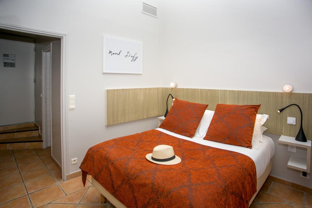 chambre standard © Relais des 3 Mas - Collioure
