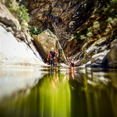 Canyon Niveau 2 - GOURG DES ANELLES - Céret (66)